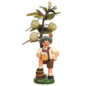 Kleine Figuren & Miniaturen Hubrig Herbstkinder Herbstkind - Hopfen - 13 cm
