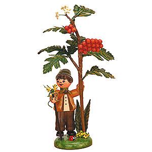 Kleine Figuren & Miniaturen Hubrig Herbstkinder Herbstkind - Vogelbeere - 13 cm