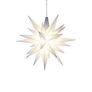 Bestseller Herrnhuter Moravian Star A1e White Plastic - 13 cm/5.1 inch