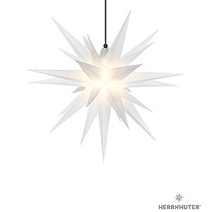 Advent Stars and Moravian Christmas Stars Herrnhuter Star A7 Herrnhuter Moravian Star A7 Opal Plastic - 68cm/27 inch