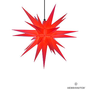 Bestseller Herrnhuter Moravian Star A7 Red Plastic - 68cm/27 inch