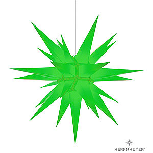 Advent Stars and Moravian Christmas Stars Herrnhuter Star A13 Herrnhuter Star A13 Green Plastic - 130cm/51 inch