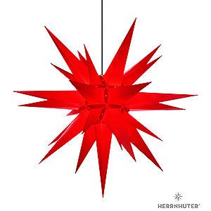 Adventssterne und Weihnachtssterne Herrnhuter Stern A13 Herrnhuter Stern A13 rot Kunststoff - 130 cm