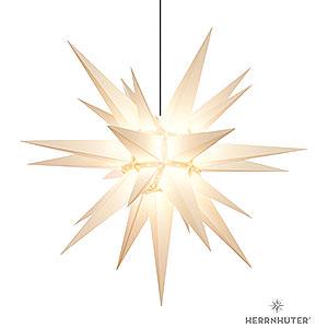 Adventssterne und Weihnachtssterne Herrnhuter Stern A13 Herrnhuter Stern A13 weiss Kunststoff - 130 cm