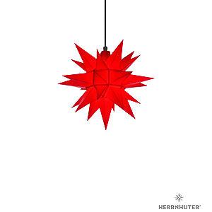 Adventssterne und Weihnachtssterne Herrnhuter Stern A4 Herrnhuter Stern A4 rot Kunststoff - 40 cm