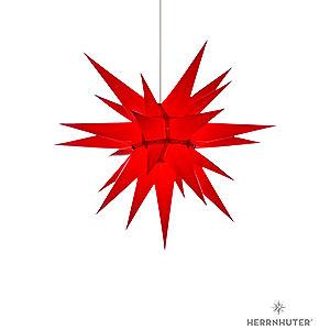Adventssterne und Weihnachtssterne Herrnhuter Stern I6 Herrnhuter Stern I6 rot Papier - 60 cm