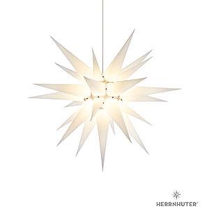 Adventssterne und Weihnachtssterne Herrnhuter Stern I7 Herrnhuter Stern I7 weiß Papier - 70 cm