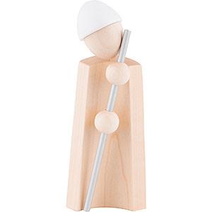 Kleine Figuren & Miniaturen Krippen Hirtenjunge mit Stab - natur/weiß - KAVEX-Krippe - 12,5 cm