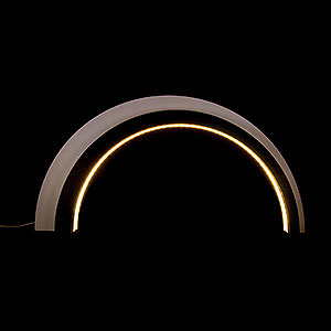 Schwibbögen Alle Schwibbögen Holz-Design-LED-Bogen groß - dunkel - KAVEX-Krippe - 75x40 cm