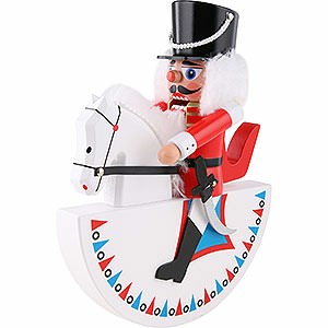 Nutcrackers Soldiers Horseman Hussar Red - 27 cm / 10.6 inch