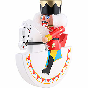 Nutcrackers Kings Horseman King Red - 26 cm / 10.2 inch