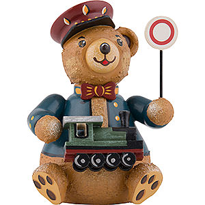 Kleine Figuren & Miniaturen Hubrig Hubiduu Hubiduu Eisenbahner - 7 cm