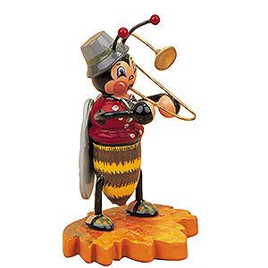 Kleine Figuren & Miniaturen Tiere Käfer Hummelmännchen mit Posaune - 8 cm