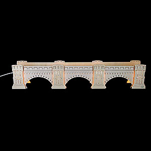 Candle Arches Illuminated Stands Illuminated Stand Augustus Bridge - 72x13x11,5 cm / 2 inch