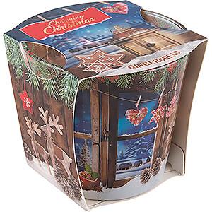 Lichterwelt Kerzen JEKA-Duftkerze - Charming Christmas - Gingerbread - 8,1 cm