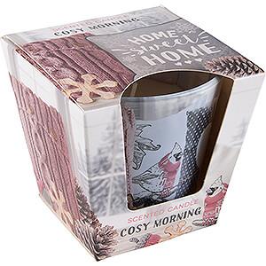 Lichterwelt Kerzen JEKA-Duftkerze - Warm & Cozy Home - Cosy Morning - 8,1 cm