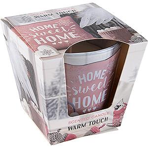 Lichterwelt Kerzen JEKA-Duftkerze - Warm & Cozy Home - Warm Touch - 8,1 cm