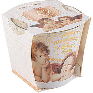 World of Light Candles JEKA Scented Candle - Secrets of Raphaels - Pin Cannelle - 8,1 cm / 3.2 inch