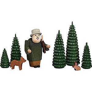 Kleine Figuren & Miniaturen alles Andere Jägergruppe - 8 cm