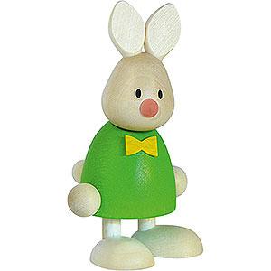 Kleine Figuren & Miniaturen Max & Emma (Hobler) Kaninchen Max stehend - 9 cm