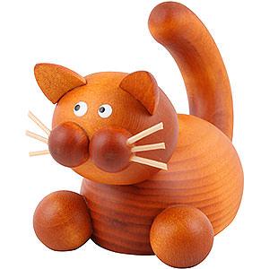 Kleine Figuren & Miniaturen Tiere Katzen Katze Charlie auf der Lauer - 5,5 cm