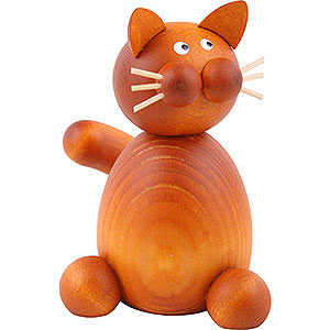 Kleine Figuren & Miniaturen Tiere Katzen Katze Charlie sitzend - 7 cm