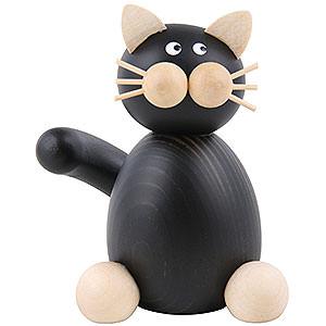 Kleine Figuren & Miniaturen Tiere Katzen Katze Hilde sitzend - 7 cm