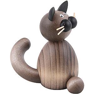 Kleine Figuren & Miniaturen Tiere Katzen Katze Karli sitzend - 7 cm