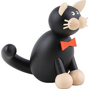Kleine Figuren & Miniaturen Tiere Katzen Katze Onkel Kurt - 8,5 cm