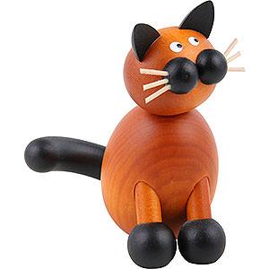 Kleine Figuren & Miniaturen Tiere Katzen Katze Tante Bommel - 8,5 cm