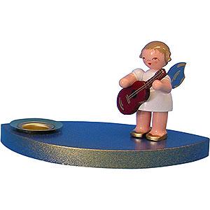 Lichterwelt Kerzenhalter Engel Kerzenhalter Engel mit Gitarre - 7 cm