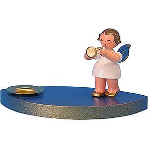Lichterwelt Kerzenhalter Engel Kerzenhalter Engel mit Trompete - 7 cm