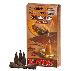 Smokers Incense Cones Knox Incense Cones - Chocolate