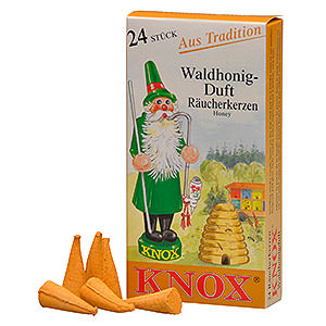 Smokers Incense Cones Knox Incense Cones - Honey
