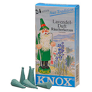Smokers Incense Cones Knox Incense Cones - Lavender
