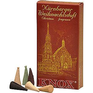 Smokers Incense Cones Knox Incense Cones - Nuremberg Christmas Fragrance Mix