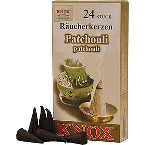 Smokers Incense Cones Knox Incense Cones - Patchouli