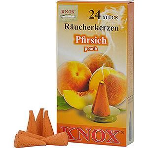 Smokers Incense Cones Knox Incense Cones - Peach