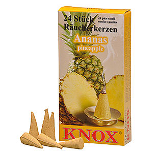 Smokers Incense Cones Knox Incense Cones - Pineapple