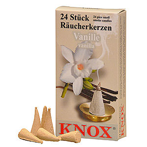 Smokers Incense Cones Knox Incense Cones - Vanilla