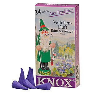 Smokers Incense Cones Knox Incense Cones - Violet