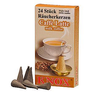 Räuchermänner Räucherkerzen Knox Räucherkerzen - Caffee Latte