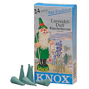 Räuchermänner Räucherkerzen Knox Räucherkerzen - Lavendel