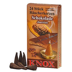 Räuchermänner Räucherkerzen Knox Räucherkerzen - Schokolade