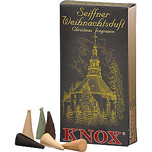 Räuchermänner Räucherkerzen Knox Räucherkerzen - Seiffener Weihnachtsmischung