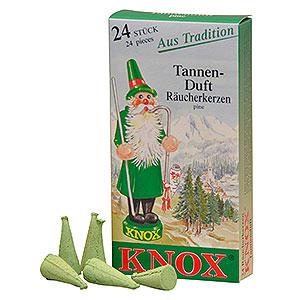 Räuchermänner Räucherkerzen Knox Räucherkerzen - Tannenduft
