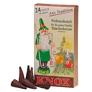 Räuchermänner Räucherkerzen Knox Räucherkerzen - Weihnachtsduft