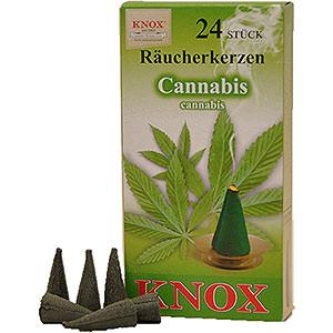 Räuchermänner Räucherkerzen Knox Räucherkerzen - Cannabis