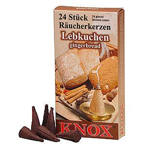 Räuchermänner Räucherkerzen Knox Räucherkerzen - Lebkuchen