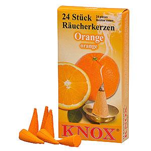 Räuchermänner Räucherkerzen Knox Räucherkerzen - Orangenduft